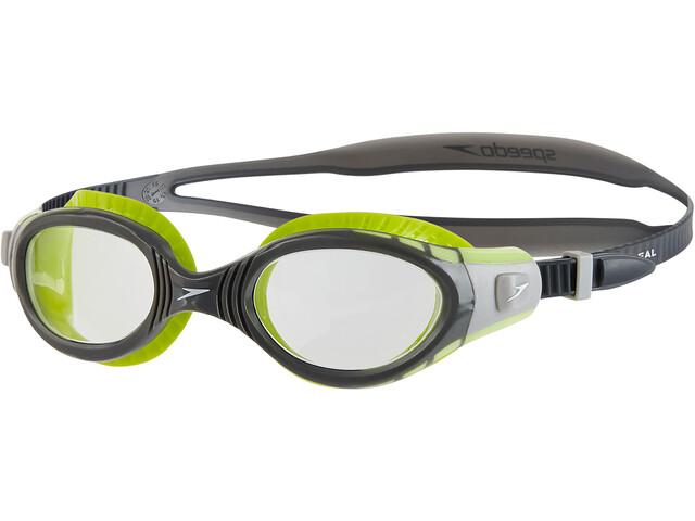 speedo Futura Biofuse Flexiseal Svømmebriller grå/grøn | swim_clothes